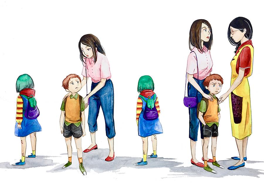 Ilustradora - cuento - infantil - madrid - Natalia Robledo - album ilustrado acuarela